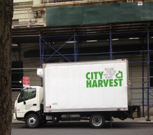 Spotted: City Harvest to the rescue!